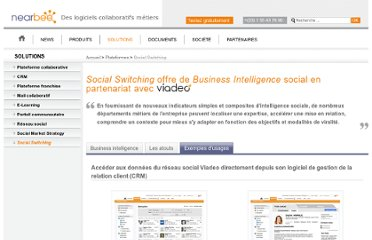 http://www.nearbee.com/plateforme-collaborative/business-intelligence/usages