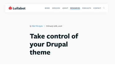 http://www.lullabot.com/articles/hacking-phptemplate