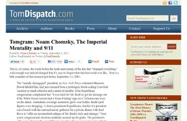 http://www.tomdispatch.com/post/175436/tomgram%3A_noam_chomsky%2C_the_imperial_mentality_and_9_11/#more