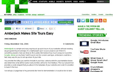 http://techcrunch.com/2006/11/03/amberjack-makes-site-tours-easy/