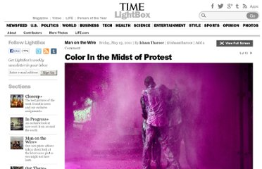 http://lightbox.time.com/2011/05/13/color-in-the-midst-of-protest/#1