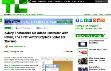 http://techcrunch.com/2009/02/06/aviary-encroaches-on-adobe-illustrator-with-raven-the-first-vector-graphics-editor-for-the-web/