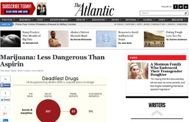 http://www.theatlantic.com/daily-dish/archive/2009/11/marijuana-less-dangerous-than-aspirin/194264/
