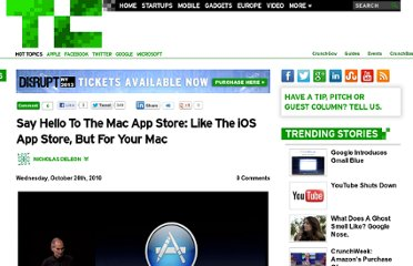 http://techcrunch.com/2010/10/20/say-hello-to-the-mac-app-store-like-the-ios-app-store-but-for-your-mac/