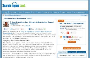 http://searchengineland.com/5-best-practices-for-kicking-off-a-global-search-program-80823