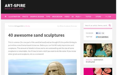http://www.art-spire.com/en/art/40-awesome-sand-sculptures/