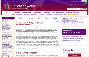 http://www.educationworld.com/a_curr/curr054.shtml