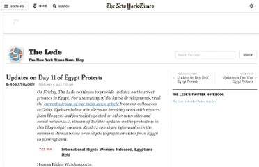 http://thelede.blogs.nytimes.com/2011/02/04/latest-updates-on-day-11-of-egypt-protests/