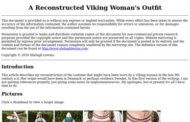 http://www.shelaghlewins.com/reenactment/viking_womans_outfit/viking_womans_outfit.htm