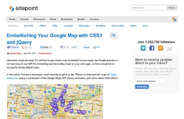 http://www.sitepoint.com/embellishing-your-google-map-with-css3-and-jquery/