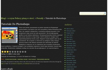 http://blogip.pl/tutoriale-do-photoshop/