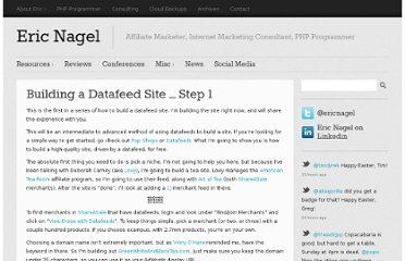 http://www.ericnagel.com/how-to-tips/building-a-datafeed-site-step-1.html