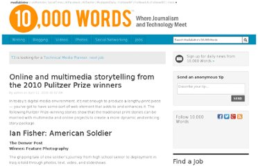 http://www.mediabistro.com/10000words/online-storytelling-from-2010-pulitzer_b417