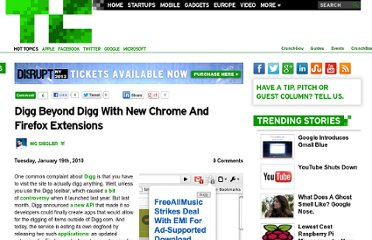 http://techcrunch.com/2010/01/19/digg-chrome-firefox-extension/
