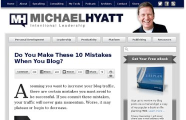 http://michaelhyatt.com/do-you-make-these-10-mistakes-when-you-blog.html