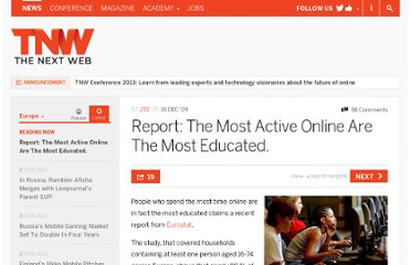 http://thenextweb.com/eu/2009/12/16/report-active-online-educated/