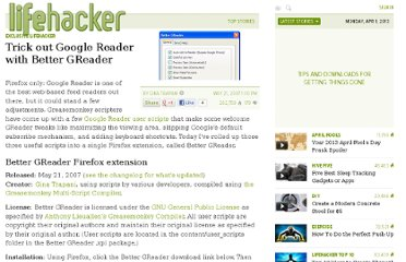 http://lifehacker.com/262020/trick-out-google-reader-with-better-greader