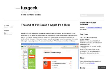 http://tuxgeek.me/2008/10/31/the-end-of-tv-boxee-apple-tv-hulu/