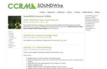 https://ccrma.stanford.edu/groups/soundwire/