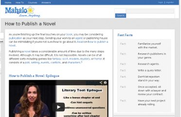 http://www.mahalo.com/how-to-publish-a-novel/
