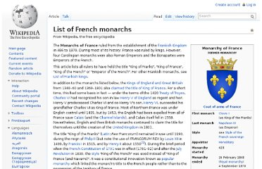 http://en.wikipedia.org/wiki/List_of_French_monarchs