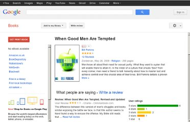 http://books.google.co.uk/books/about/When_Good_Men_Are_Tempted.html?id=VPVKTZpiLzEC