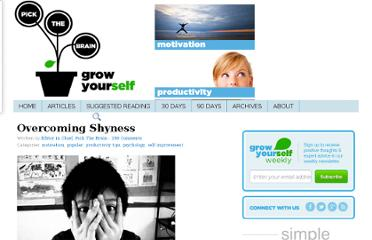http://www.pickthebrain.com/blog/overcoming-shyness/