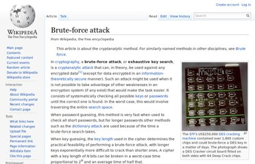 http://en.wikipedia.org/wiki/Brute-force_attack