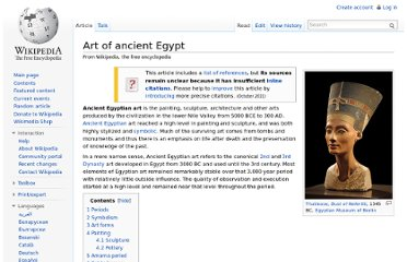 http://en.wikipedia.org/wiki/Art_of_ancient_Egypt