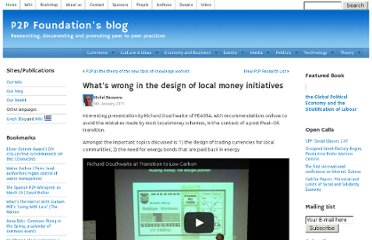 http://blog.p2pfoundation.net/whats-wrong-in-the-design-of-local-money-initiatives/2011/01/04