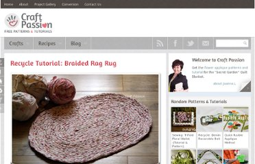 http://www.craftpassion.com/2010/03/recycle-tutorial-braided-rag-rug.html