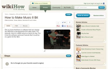 http://www.wikihow.com/Make-Music-8-Bit