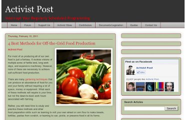 http://www.activistpost.com/2011/02/4-best-methods-for-off-grid-food.html