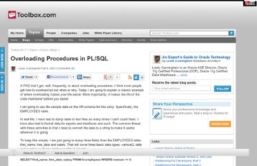 http://it.toolbox.com/blogs/oracle-guide/overloading-procedures-in-plsql-14395