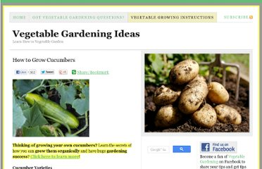 http://www.vegetablegardeningideas.com/vegetable-growing-instructions/how-to-grow-cucumbers/