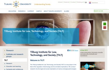 http://www.tilburguniversity.edu/research/institutes-and-research-groups/tilt/