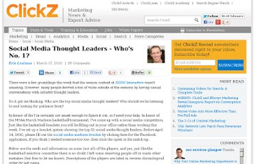 http://www.clickz.com/clickz/column/1696166/social-media-thought-leaders-whos-no