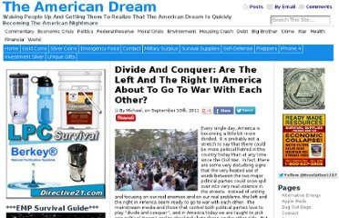 http://endoftheamericandream.com/archives/divide-and-conquer-are-the-left-and-the-right-in-america-about-to-go-to-war-with-each-other