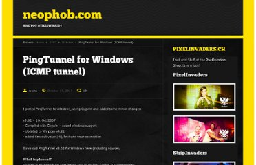 http://neophob.com/2007/10/pingtunnel-for-windows-icmp-tunnel/