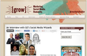 http://www.businessesgrow.com/2009/11/05/an-interview-with-ges-social-media-wizards/