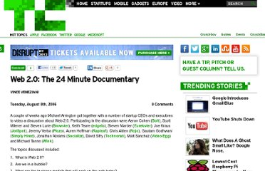 http://techcrunch.com/2006/08/08/web-20-the-24-minute-documentary/