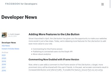 http://developers.facebook.com/blog/post/397/