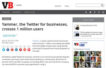 http://venturebeat.com/2010/07/20/yammer-1-million-users/