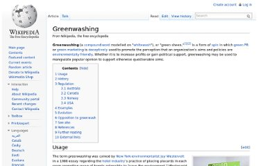 http://en.wikipedia.org/wiki/Greenwashing