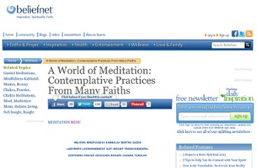 http://www.beliefnet.com/Wellness/Guided-Meditations/A-World-of-Meditation-Comtemplative-Practices-From-Many-Faiths.aspx