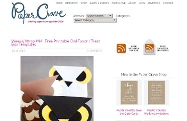 http://papercrave.com/weekly-wrap-44-free-printable-owl-favor-treat-box-templates/
