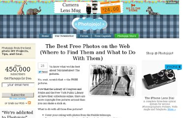 http://content.photojojo.com/guides/copyright-free-public-domain-photos/