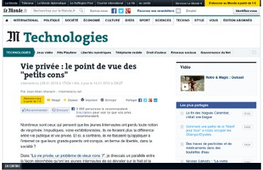 http://www.lemonde.fr/technologies/article/2010/01/08/vie-privee-le-point-de-vue-des-petits-cons_1289411_651865.html