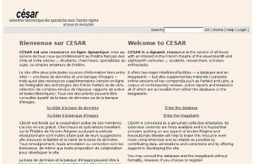 http://www.cesar.org.uk/cesar2/index.php