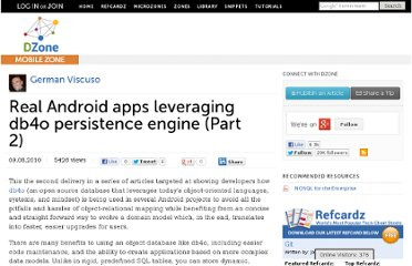 http://mobile.dzone.com/articles/real-android-apps-leveraging-1